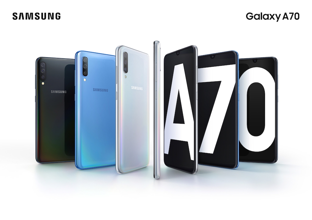 Captura y comparte tu mundo con Galaxy A70